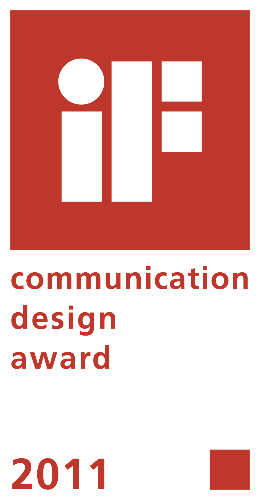 if communication design award gold 2011